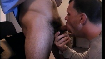 Cock cums fast with good blowjob