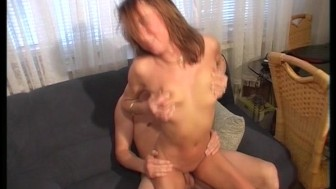 Naughty neighbor screws her sons friend (clip)