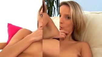 Petite Milf Masturbates Her Mature Pussy