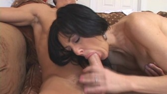 Mature Lady Seduces Young Cock