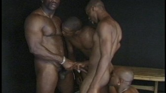 Two gay guy cocks on top of each other being rubbed