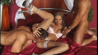Blonde hair, blue eyes and two horny guys.Want more?