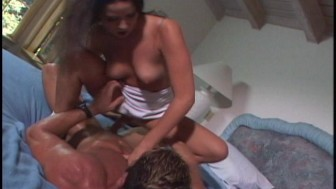 The house sitter gets hers in the end (clip)