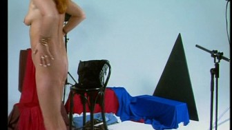 Mature redhead poses for pictures (CLIP)