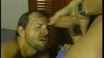Shave and a blowjob for two