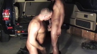White man craves big black cock in his rear end