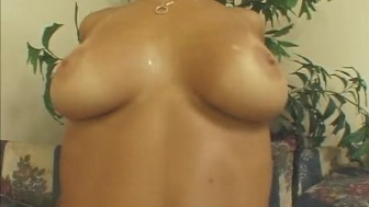 Babe With Big Natural Tits Anal Fucked