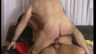 Foursome with two hot MILFS gets hot and heavy. (Clip)