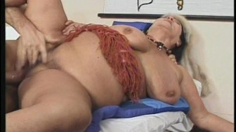 Older lady enjoying getting laid