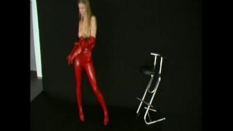 Diana spandex girl posing