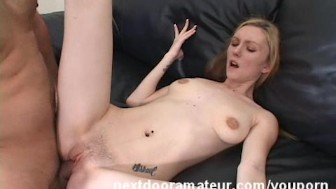 Amateur filled Her Pussy With Hot Cum