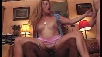 Two guys fuck a horny girl