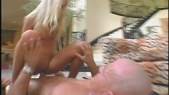 Muscle head porks hot blonde