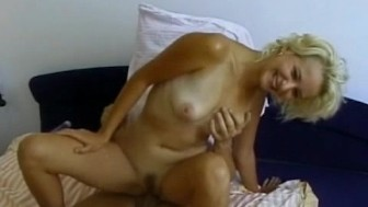 Zuzana's tight pink pussy pounded hard