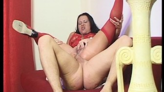 RED HOT VIXEN WANTS ALL HIS COCK