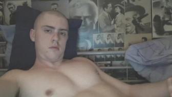 Me masturbating in bed