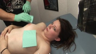 Lexi Botched Nipple Piercing at the Beach