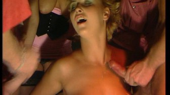 Melange of hot and heavy Euro orgy scenes