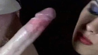 Cock in Hand and Mouth