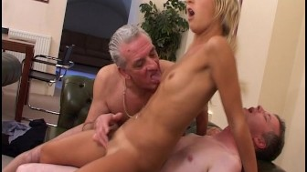 Experienced guys fuck a young chick - Adult_Made