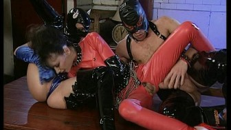 Hot Latex Orgy