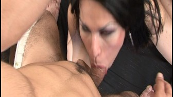 Tranny Loves Sucking Hairy Cock - Latin-Hot