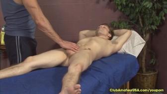 Gay Porn Star Rubs Twink