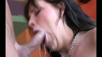 Busty brunette Missy Monroe sex in fencenet