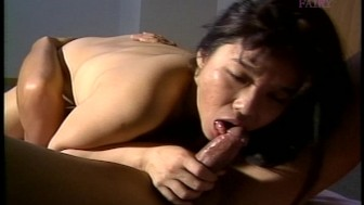 Tiny tit Asian girl 69s and fucks
