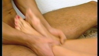 Foot fetish German sex
