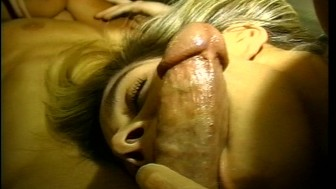 Horny sluts found a cock to play with