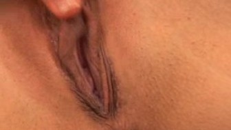 Great Closeup of a Large Clit