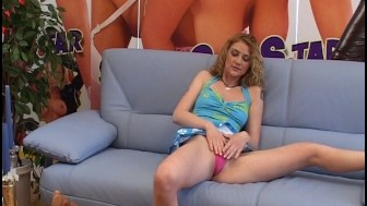 Amateur solo shoot on the couch - DBM Video