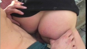 Busty blonde likes to pee and fuck - Shots