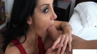 Huge Boobs and Wet Blowjob