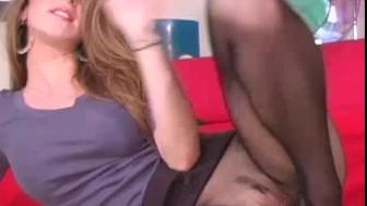 Kayla Page the pantyhose instructor