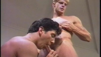 Muscle hunk and his boss - his video