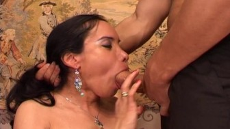 Shemale has hunger for for a huge cock and a mouthful of cum - 3 vision entertainment