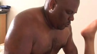 Big-Ass Ebony Chick Gets Pounded - Gentlemens Video