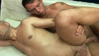 Horny gay guys love the cock
