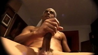 Big dick on a hot black guy