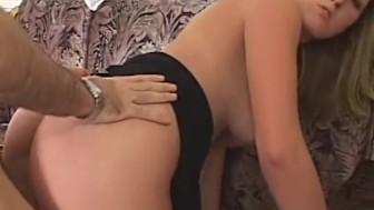 Busty Blonde Summer Lynn Receives Creampie