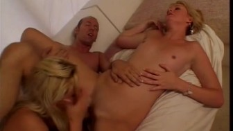 Large enough cock to pleasure two horny blondes - Future Works