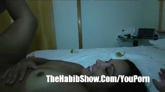 Big Buddha 400lb man Fucks Brazilian wifey Pussy P2