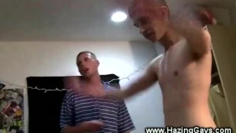 College initiation for straight guys with hot anal