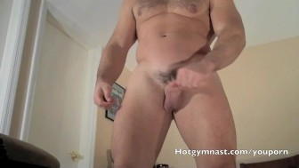 College Cumming Muscle Hunk