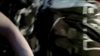 Nude boy sucking himself in bed