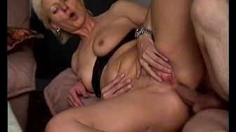 horny moms first anal