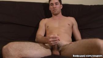Nathan lets loose his load!