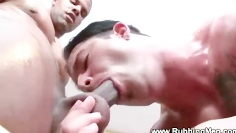 Client has a hard on for his masseuse and wants to be fucked